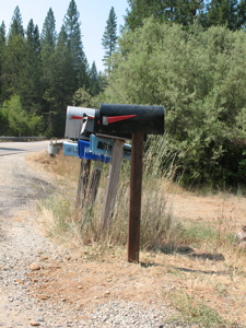 Mailbox - side view