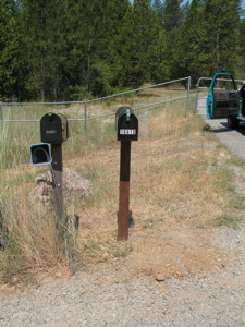 Mailbox - front view